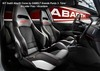 ABARTH 500 Corse Seats by SABELT Leder