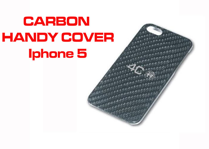 Alfa 4C Iphone 5 Handy Cover in Carbon