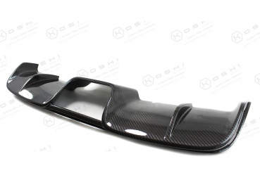 ABARTH 500/595 Central Exhaust Diffuser - Genuine Carbon - Kopie